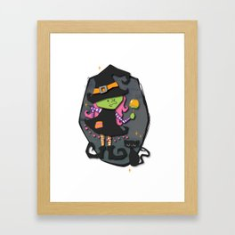 The Stitching Witch Framed Art Print