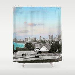 Top of Jaffa Shower Curtain
