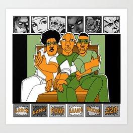 1001 Black Men--#220 Art Print