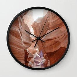 ANTELOPE CANYON XIX Wall Clock