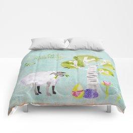 Easter Morning- Animal Sheep - for children Comforters