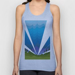 The hero always comes late. Unisex Tank Top