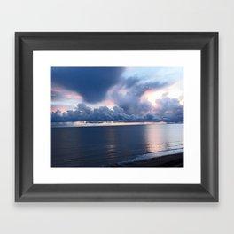Monreith Sunset Framed Art Print