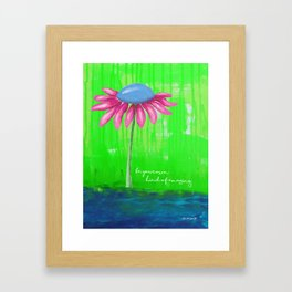 """""""Be Your Own Kind of Amazing"""" Original design by PhillipaheART Framed Art Print"""