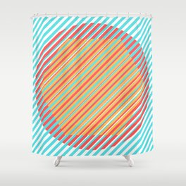 Integrated Shapes Shower Curtain