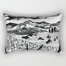 A walk to remember Rectangular Pillow