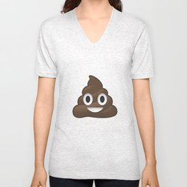 Whatsapp - Poop Unisex V-Neck