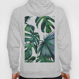 Tropical Palm Leaves Classic II Hoody