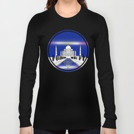 Taj Mahal India Long Sleeve T-shirt