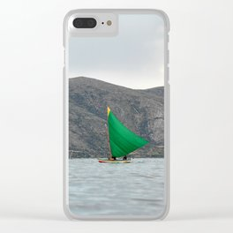 Titicaca sail 2 Clear iPhone Case