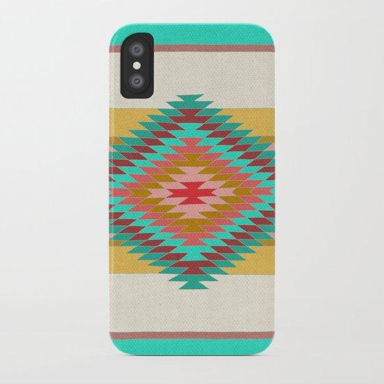 FIESTA (teal) iPhone Case