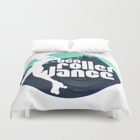 logo Duvet Covers featuring Logo by BCN Roller Dance