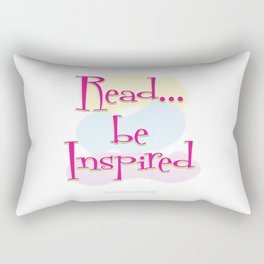Read..be Inspired Rectangular Pillow