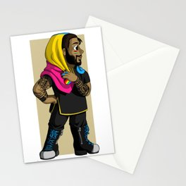 Pride Miserables - Pansexual Bahorel Stationery Cards