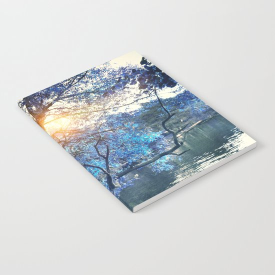 Hope in blue Notebook