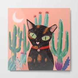 Princess the Cat Metal Print