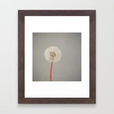 The Passing of Time Framed Art Print