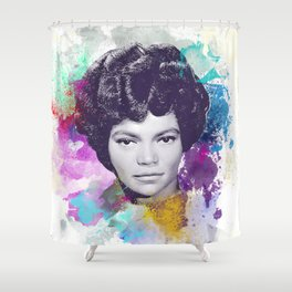 Eartha Kitt II Shower Curtain