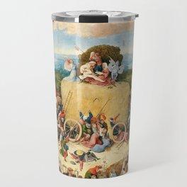 The Haywain Triptych by Bosch 1519 Travel Mug