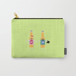 Wedding Beerbottle couple T-Shirt Dn4bx Carry-All Pouch