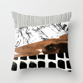 colage 01 Throw Pillow