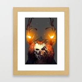 LAGAHOO GIRL Framed Art Print