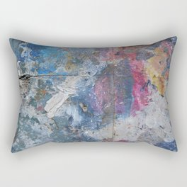 PAINTING STUDIO FLOOR-DUMBO, BROOKLYN, NY Rectangular Pillow