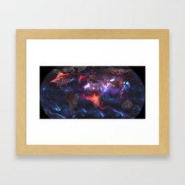 Beauty of Pollution Framed Art Print