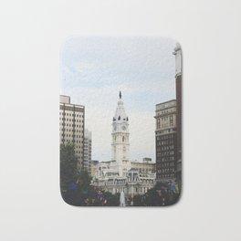 Philadelphia City Hall from the Parkway Bath Mat