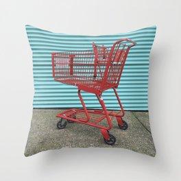 Going Shopping Throw Pillow