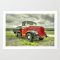 Morris Commercial Pickup Art Print
