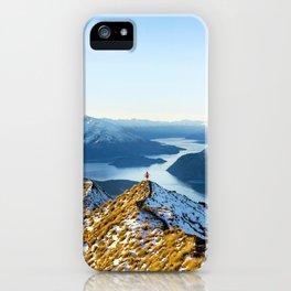 Dancing Peaks iPhone Case