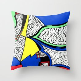 Print #8 Throw Pillow