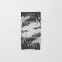 Misty Mountain II B&W Hand & Bath Towel