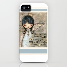 No Need To Wait - by Diane Duda iPhone Case