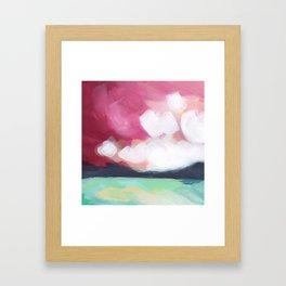 Mini Postcard for June Framed Art Print