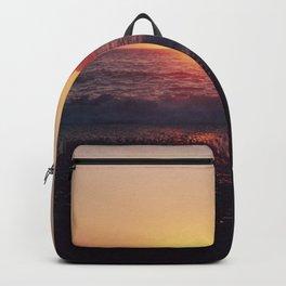 Crash into me - Romantic Sunset @ Beach #1 #art #society6 Backpack