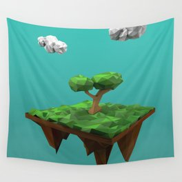 lowpoly summer Wall Tapestry