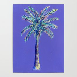 palm tree painting Poster