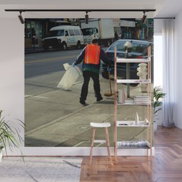 Catch The Wind-sweeper Wall Mural