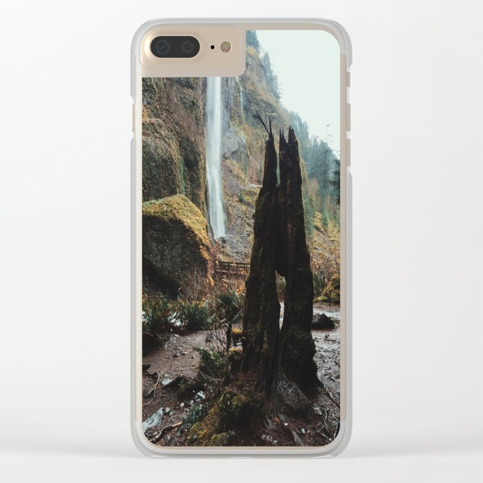 Waterfell Clear iPhone Case