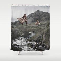Manhunter Shower Curtain