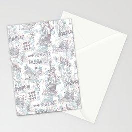 America art#4 Stationery Cards