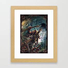 HASTUR Framed Art Print
