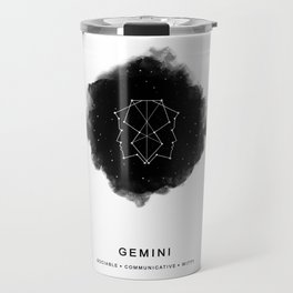 Gemini, Zodiac Travel Mug