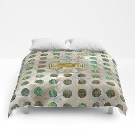 Golden Tortoise / Turtle Feng Shui Abalone Shell Comforters