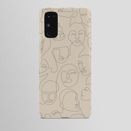 She's Beige Android Case