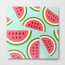 Watermelon Metal Print