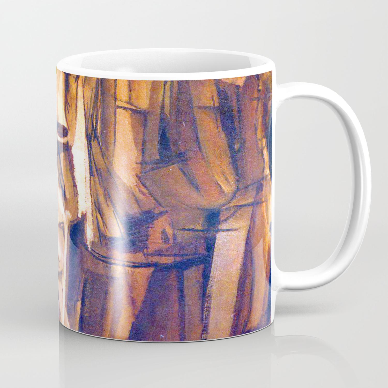 Marcel Duchamp Sad Young Man On A Train Coffee Mug By Jjbzz Society6