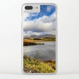 Llyn y Dywarchen Snowdonia Clear iPhone Case